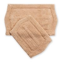 Waterford 2-Piece Bath Rug Set in Linen