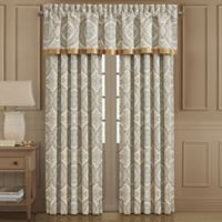 J. Queen New York™ Sorrento 84-Inch Rod Pocket Window Curtain Panel Pair in Blue