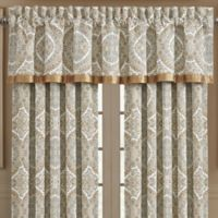 J. Queen New York™ Sorrento Rod Pocket Window Valance in Blue