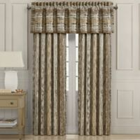 J. Queen New York™ Sunrise 84-Inch Rod Pocket Window Curtain Panel Pair in Gold