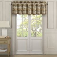 J. Queen New York™ Sunrise Rod Pocket Window Valance in Gold