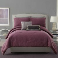 Ayesha Curry™ Aubergine King Comforter Set in Purple