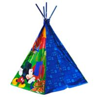Disney® Mickey Mouse Canvas Teepee in Blue
