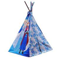 Disney® Frozen Canvas Teepee in Blue