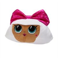 LOL Surprise Bow Diva Cuddle Throw Pillow in Pink