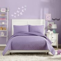 Urban Playground Angelietta Full/Queen Quilt in Purple