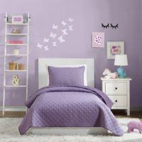 Urban Playground Angelietta Twin Quilt in Purple