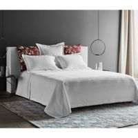 Frette At Home Concrete Fashion Queen Coverlet in White