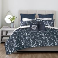 Canadian Living Victoria King Duvet Cover in Navy