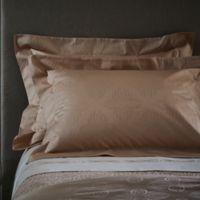 Frette At Home Boho Standard Pillow Sham in Powder Pink