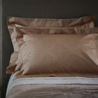 Frette At Home Boho King Pillow Sham in Powder Pink
