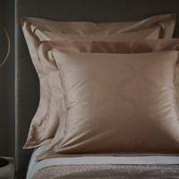 Frette At Home Boho European Pillow Sham in Powder Pink