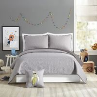 Urban Playground™ Reversible Coty Full/Queen Quilt in Grey