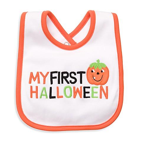 carters my first halloween bib