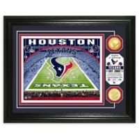NFL Houston Texans Stadium Silver Plated Coins Photo Mint