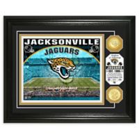 NFL Jacksonville Jaguars Stadium Silver Plated Coins Photo Mint