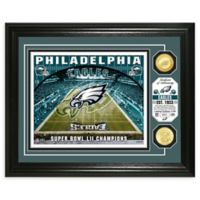 NFL Philadelphia Eagles Stadium Silver Plated Coins Photo Mint