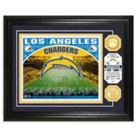 NFL Los Angeles Chargers Stadium Silver Plated Coins Photo Mint