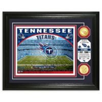 NFL Tennessee Titans Stadium Silver Plated Coins Photo Mint