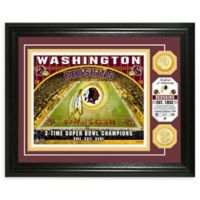 NFL Washington Redskins Stadium Silver Plated Coins Photo Mint