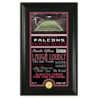 NFL Atlanta Falcons House Rules Bronze Coin Photo Mint