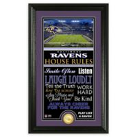 NFL Baltimore Ravens House Rules Bronze Coin Photo Mint