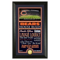 NFL Chicago Bears House Rules Bronze Coin Photo Mint
