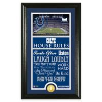 NFL Indianapolis Colts House Rules Bronze Coin Photo Mint