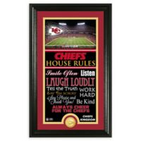NFL Kansas City Chiefs House Rules Bronze Coin Photo Mint