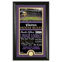 NFL Minnesota Vikings House Rules Bronze Coin Photo Mint