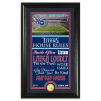 NFL Tennessee Titans House Rules Bronze Coin Photo Mint