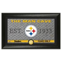 NFL Pittsburgh Steelers Man Cave Bronze Coin Photo Mint