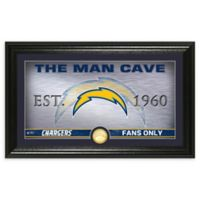 NFL Los Angeles Chargers Man Cave Bronze Coin Photo Mint