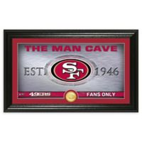 NFL San Francisco 49ers Man Cave Bronze Coin Photo Mint