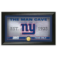 NFL New York Giants Man Cave Bronze Coin Photo Mint