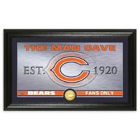 NFL Chicago Bears Man Cave Bronze Coin Photo Mint