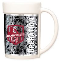 University of Alabama Operation Hat Trick™ Coffee Mug in White
