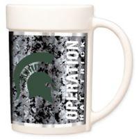 University of Michigan Operation Hat Trick™ Coffee Mug in White