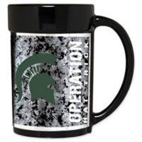 Michigan State University Operation Hat Trick™ 15 oz. Coffee Mug in Black