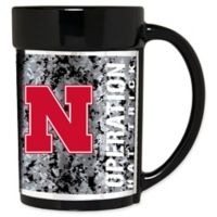 University of Nebraska Operation Hat Trick™ 15 oz. Coffee Mug in Black