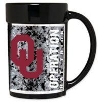 University of Oklahoma Operation Hat Trick™ 15 oz. Coffee Mug in Black