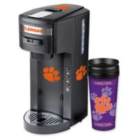 Clemson University Deluxe Single Serve Coffee Maker