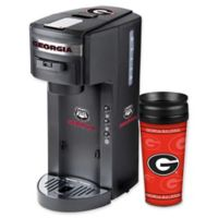 University of Georgia Deluxe Single Serve Coffee Maker