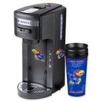 University of Kansas Deluxe Single Serve Coffee Maker