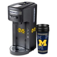 University of Michigan Deluxe Single Serve Coffee Maker