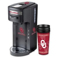 University of Oklahoma Deluxe Single Serve Coffee Maker