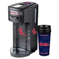 University of Mississippi Deluxe Single Serve Coffee Maker