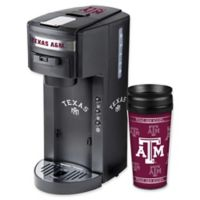 Texas A&M University Deluxe Single Serve Coffee Maker