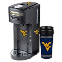West Virginia University Deluxe Single Serve Coffee Maker