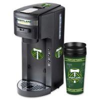 MLS Portland Timbers Deluxe Coffee Maker